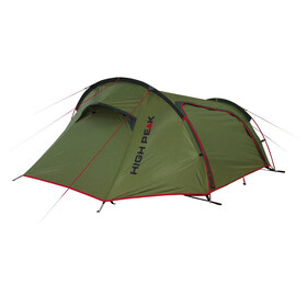 High Peak Sparrow 2 Tent, olive/red